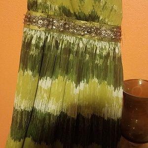 A maxi dress